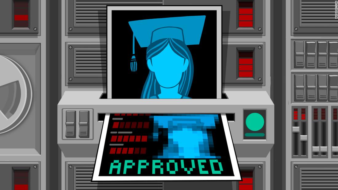 Υπάρχει ένα νέο εμπόδιο για την προσγείωση μια δουλειά μετά από το κολλέγιο: να Πάρει έγκριση από το AI