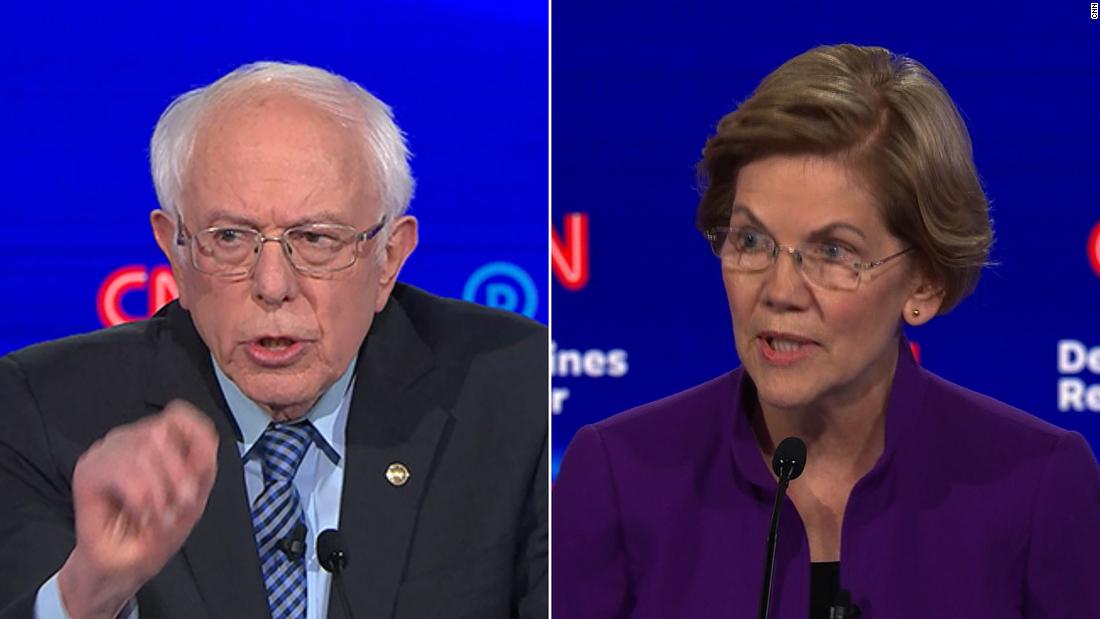 See Warren's fiery response to Bernie Sanders' denial