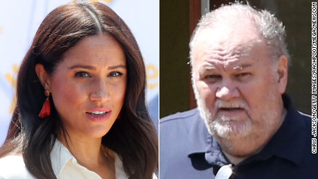 Meghan & # 39; s father Thomas Markle could end up testifying against her in Britain's legal battle