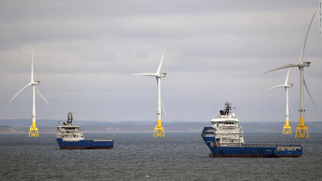ガス加熱による最大の脅威となる英国の気候変動目標