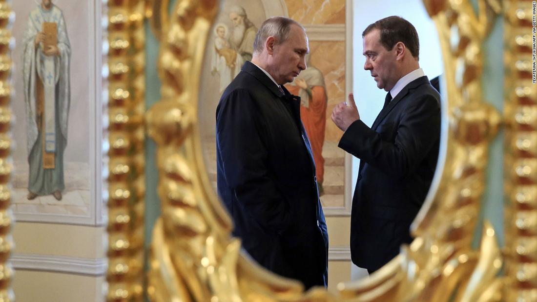 Analyse: das heutige Russland shakeup sendet Putins Botschaft an die Welt