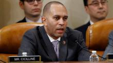 House Democratic Caucus Chairman Hakeem Jeffries, a New York Democrat