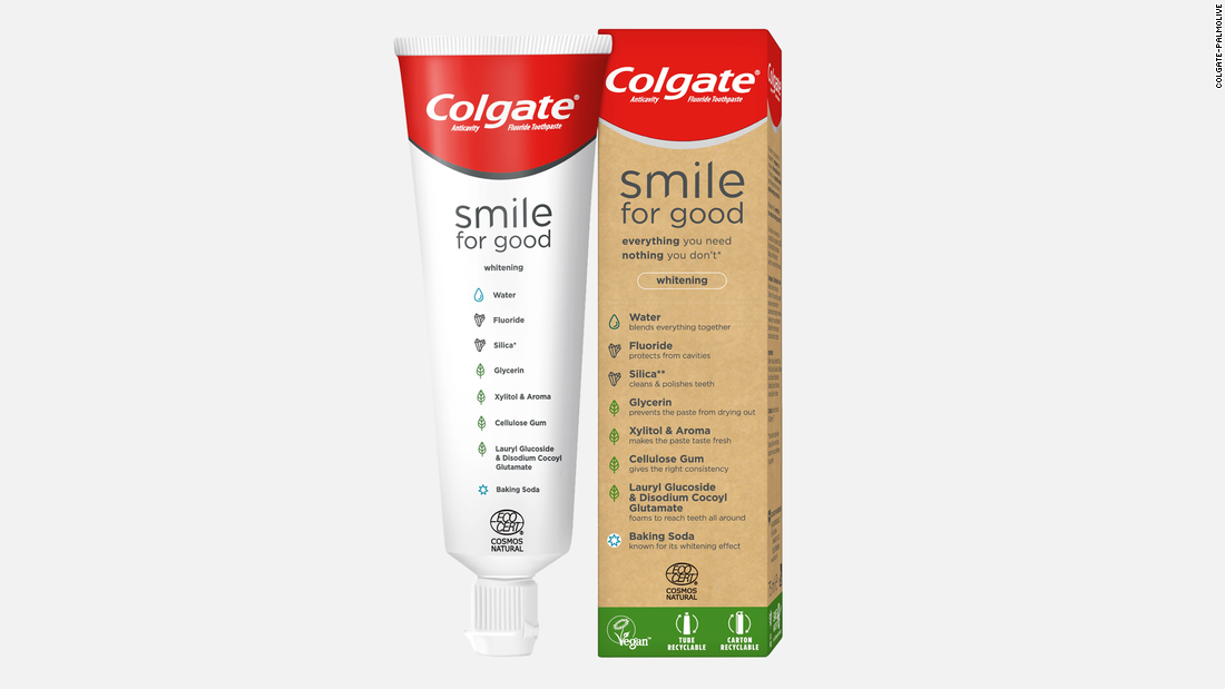Η Colgate εγκαινιάζει ανακυκλώσιμα σωλήνων οδοντόπαστας