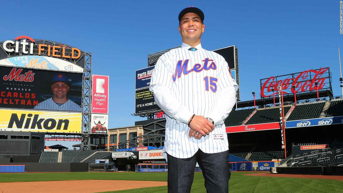 Carlos Beltran What May Be Next For The Mets Manager Cnn
