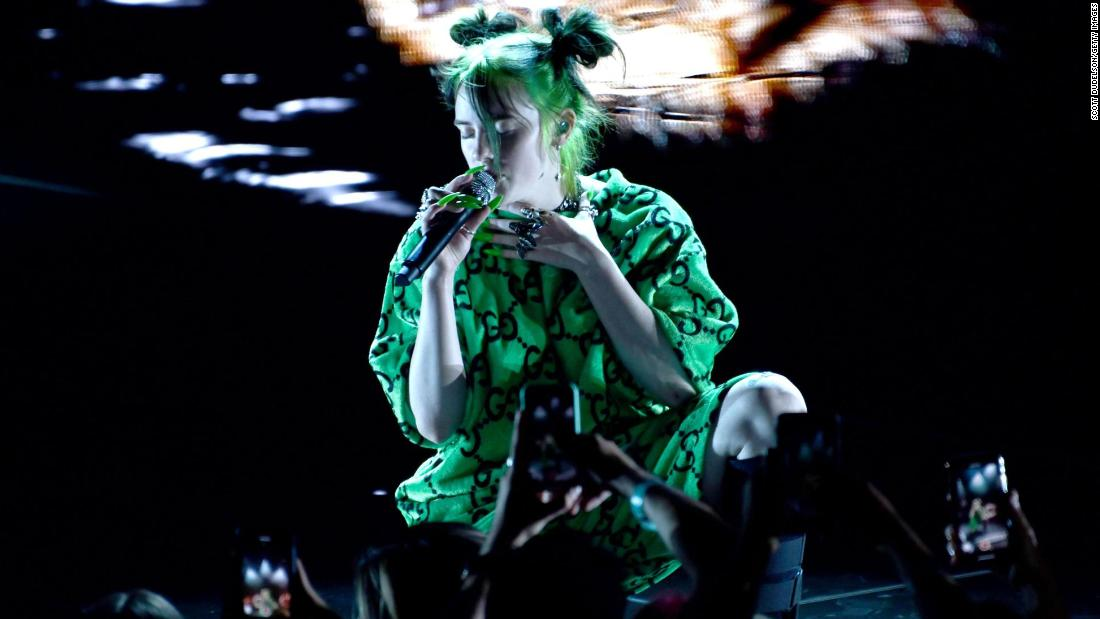 "18-year-old superstar Billie Eilish is ""greening"" her upcoming ""Where Do We Go?"" world tour, making it more environmentally friendly. She's one of a growing number of musicians who are making their tours more sustainable."