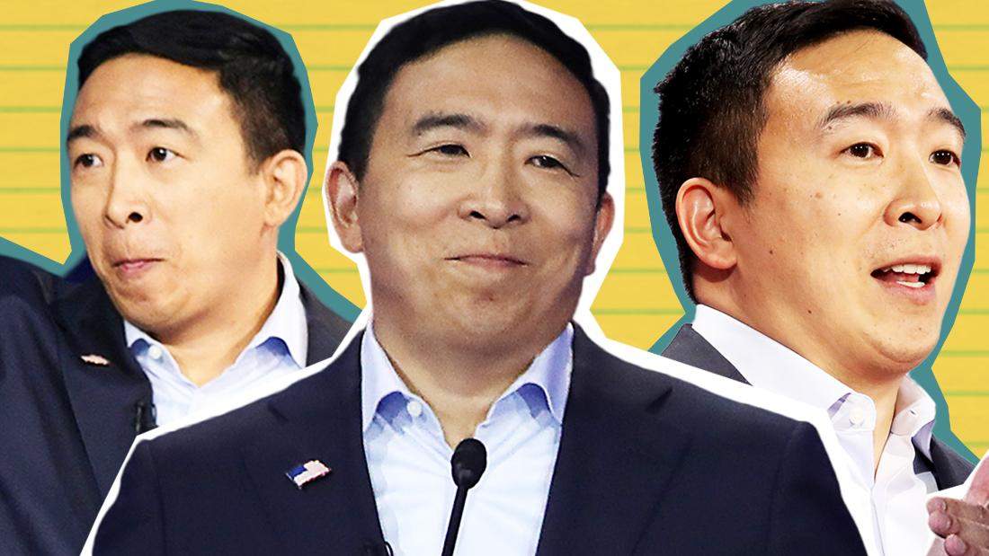 Andrew Yang qualifies for February debate stage with latest poll