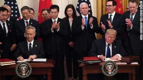 China deal and impeachment: Witnessing a surreal 30 minutes in Washington