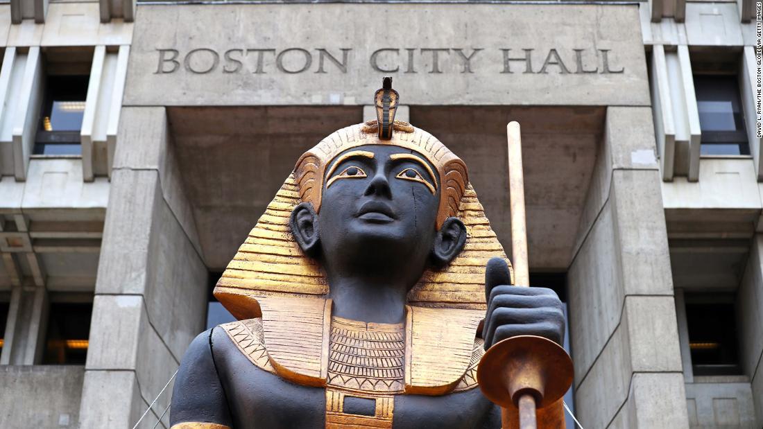 King Tut ' s Schätze auf dem Weg nach Boston zum ersten mal in 50 Jahren