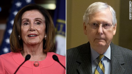 Democrats and GOP on collision course over new emergency aid package