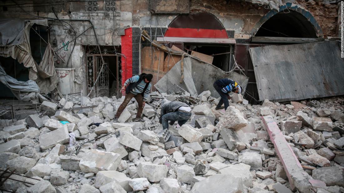 Luftangriffe töten mindestens 15 während der Waffenruhe in Syrien