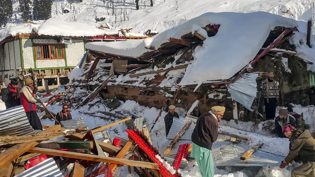 200115170351 05 kashmir pakistan avalanche super tease - Pakistan avalanches kill at least 77 people