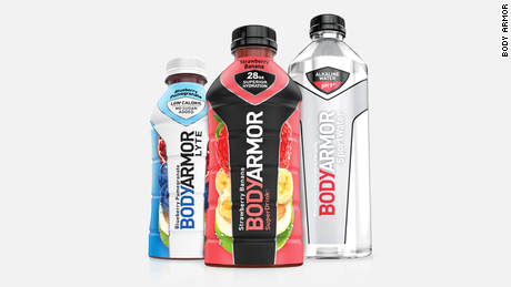 Body Armor is an up-and-coming sports drink brand.