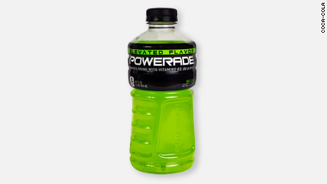 Powerade's old packaging.