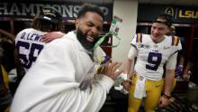 LSU says Odell Beckham Jr. did give players actual cash after national title game