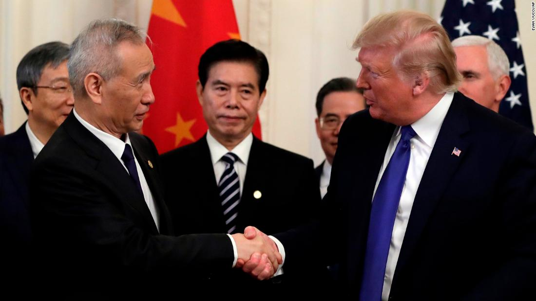 China just agreed to buy $200 billion worth of US products - CNN thumbnail