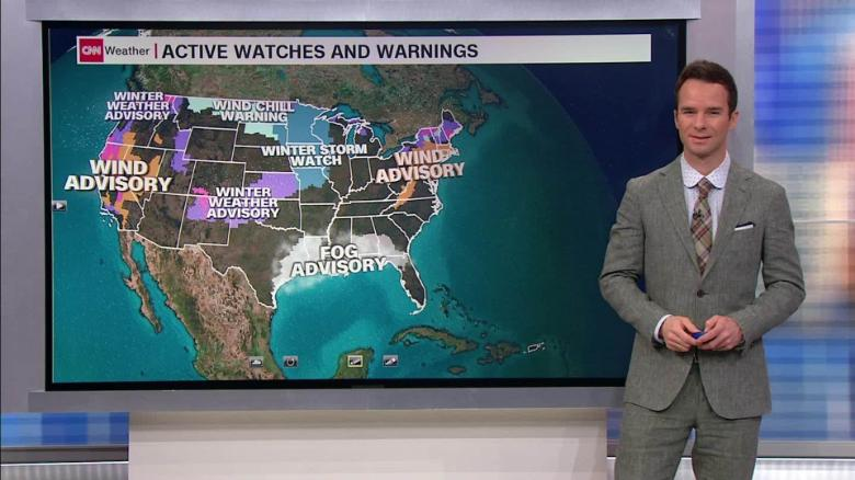 Strong winds will be impacting travel in the Northeast
