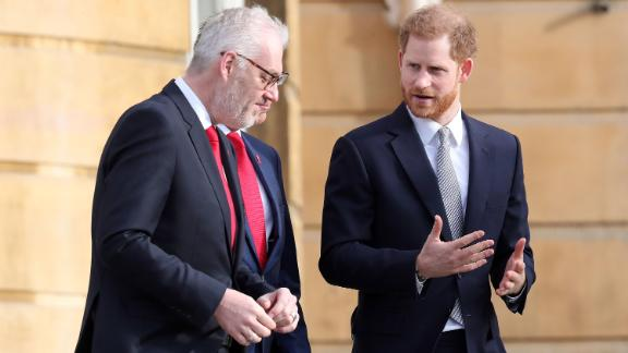 Prince Harry, Duke of Sussex, the Patron of the Rugby Football League hosts the Rugby League World Cup 2021 draws for the men