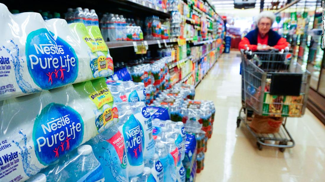 A Washington state proposal would stop bottled water companies from tapping natural water sources - CNN