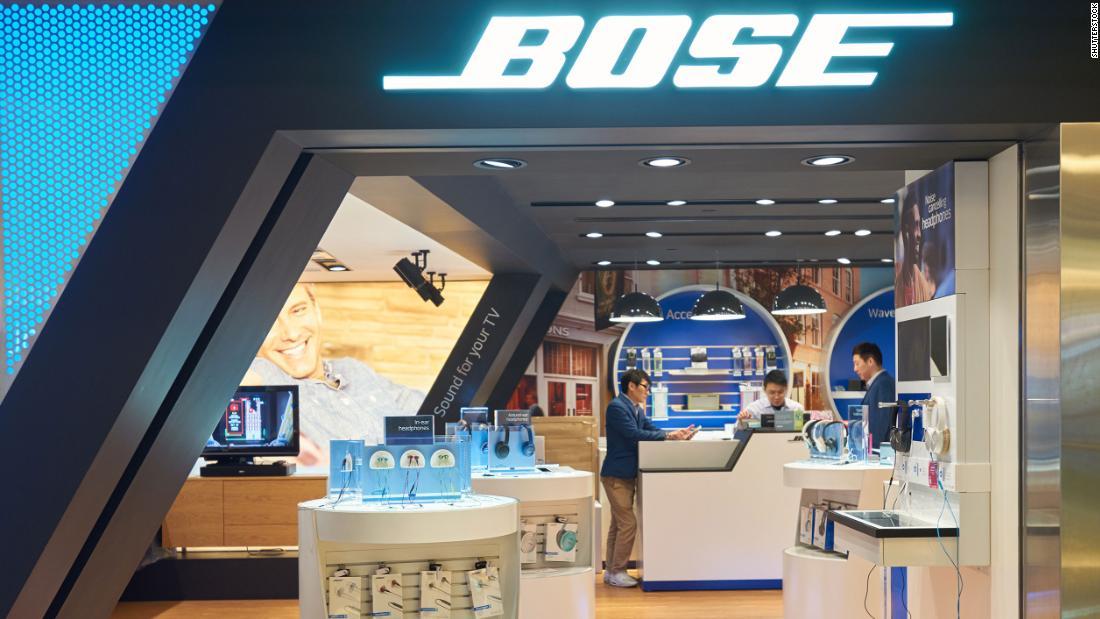Bose schließt mehr als 100 Filialen