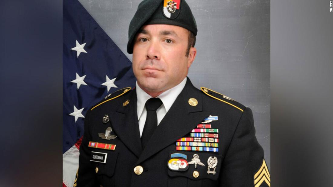 A decorated soldier who served eight tours overseas died in a free-fall training exercise in Arizona, Army says