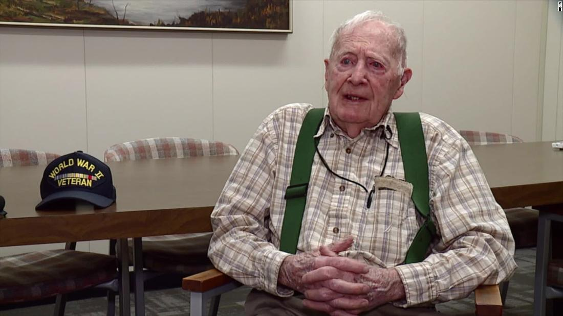 Indiana's oldest state worker is retiring. He's 102 years old