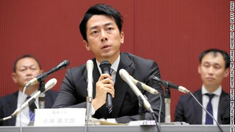 Shinjiro Koizumi is widely regarded as a future prime candidate.