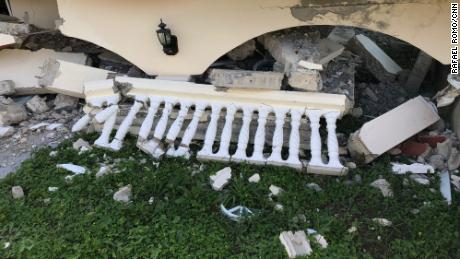 A house in Guayanilla collapsed after a 6.4 magnitude earthquake on January 7.