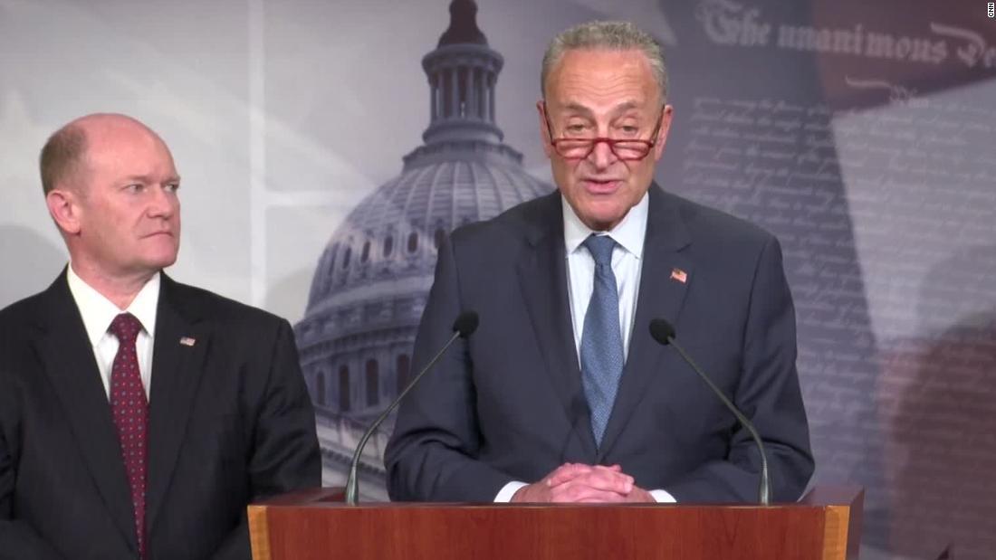 Schumer: When the chief justice walked in, I saw senators gulp