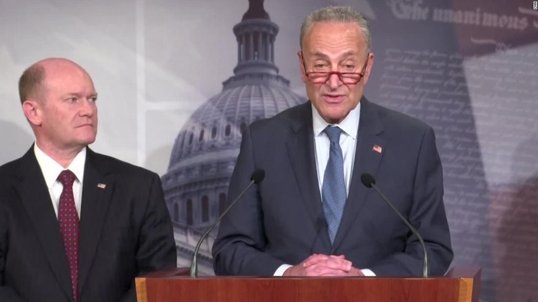 Chuck Schumer: ich sah Senatoren
