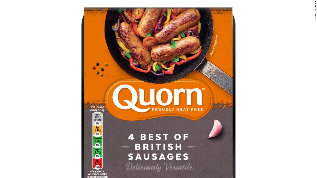 In Quorn, the fungus is mixed with an egg- or potato-based binder to produce meat alternatives including fake mince, sausages and chicken nuggets.