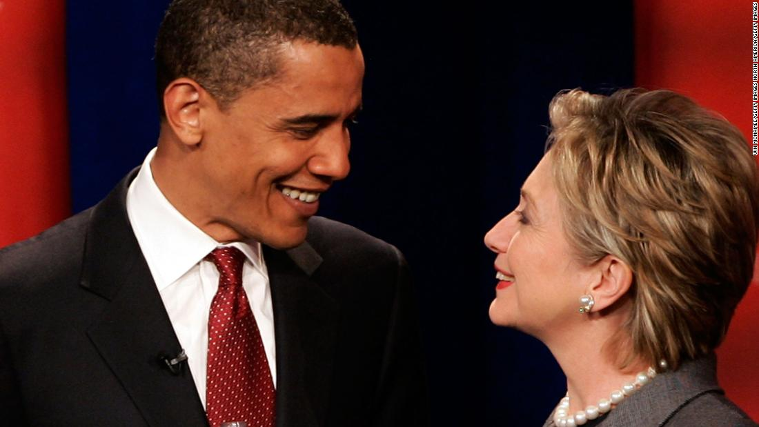 When Clinton and Obama had THEIR meltdown