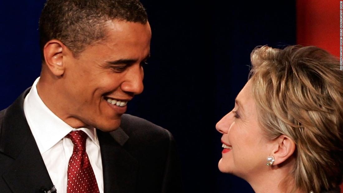 Wenn Hillary Clinton und Barack Obama hatte IHRE Kernschmelze