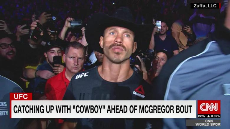 Catching Up With Cowboy Ahead Of The Conor Mcgregor Bout