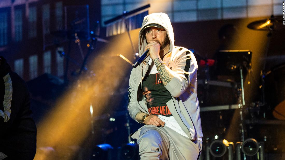 Without warning, Eminem drops new album 'Music to be Murdered by'