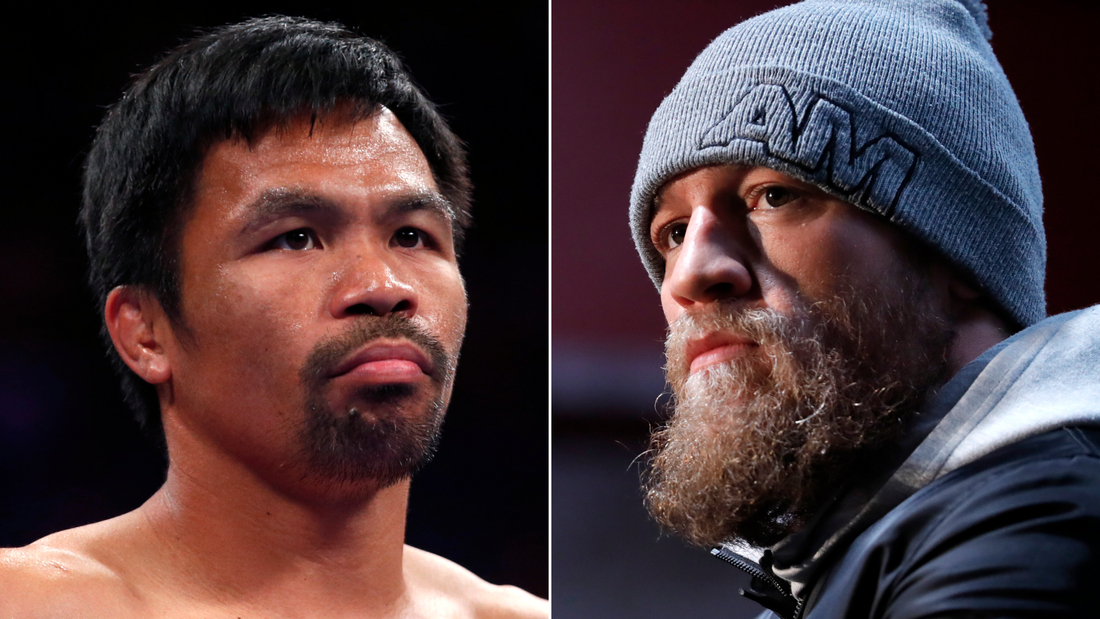Conor McGregor wants a boxing match with Manny Pacquiao