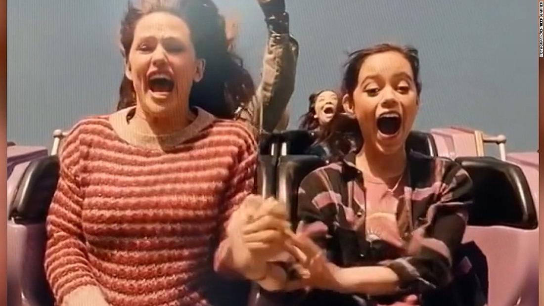 Actress does voiceover of roller coaster ride