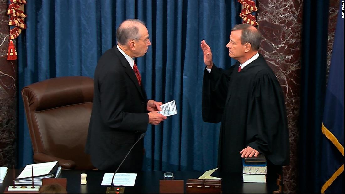 この最高裁判所長官の役割impeachment