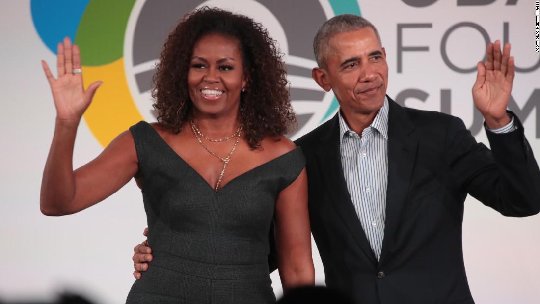 このミシェル-オバマ米大統領誕生日。 夫欲しいか