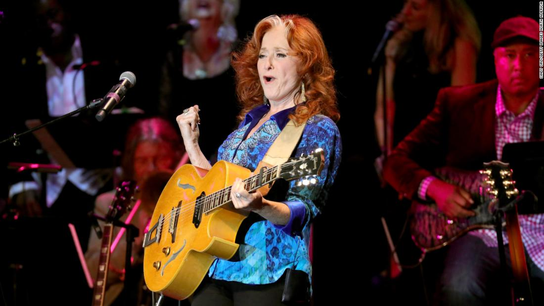 Bonnie Raitt is considered to be the godmother of green touring, according to Gardner. She has played concerts to raise awareness of environmental movements since the 1970s.