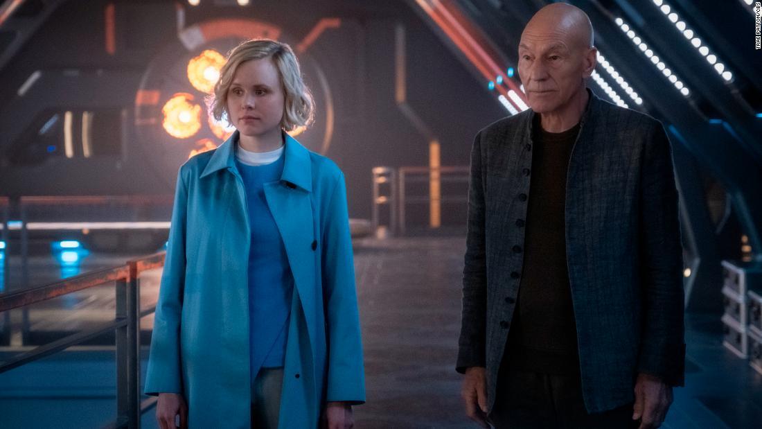 Review: 'Star Trek: Picard' perlahan-lahan pergi ke mana waralaba yang telah terjadi sebelumnya