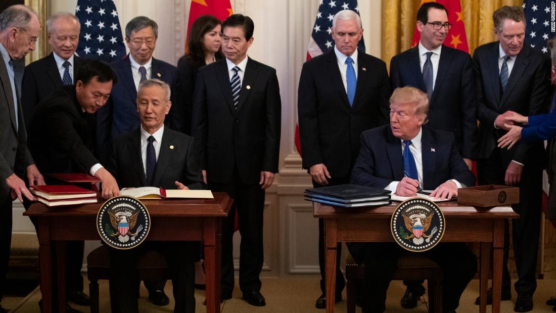 Γνώμη: συμφωνία των ΗΠΑ με την Κίνα είναι μια νίκη για Ατού, αλλά ακόμα πρέπει να γίνει