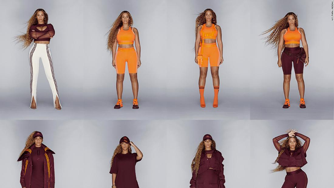 A British grocery chain poked fun at Beyoncé's new Ivy Park x Adidas line, which looks a lot like its uniforms