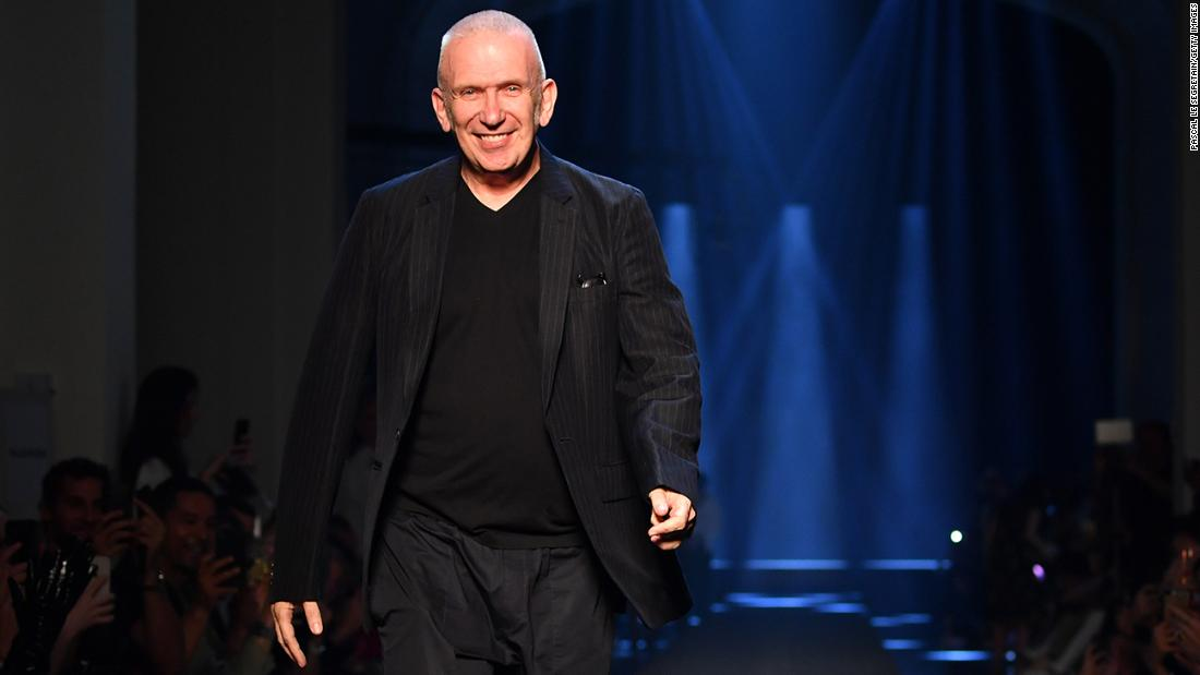 Haute couture fashion designer Jean Paul Gaultier announces his retirement from runway