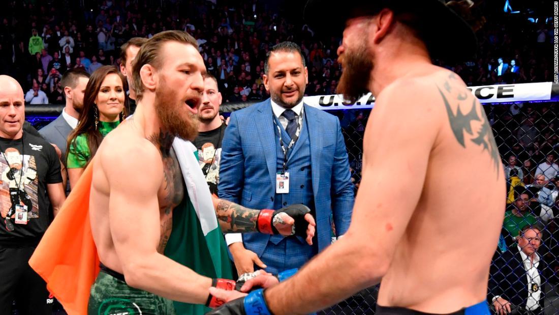 In Bildern: McGregor kehrt in den octagon