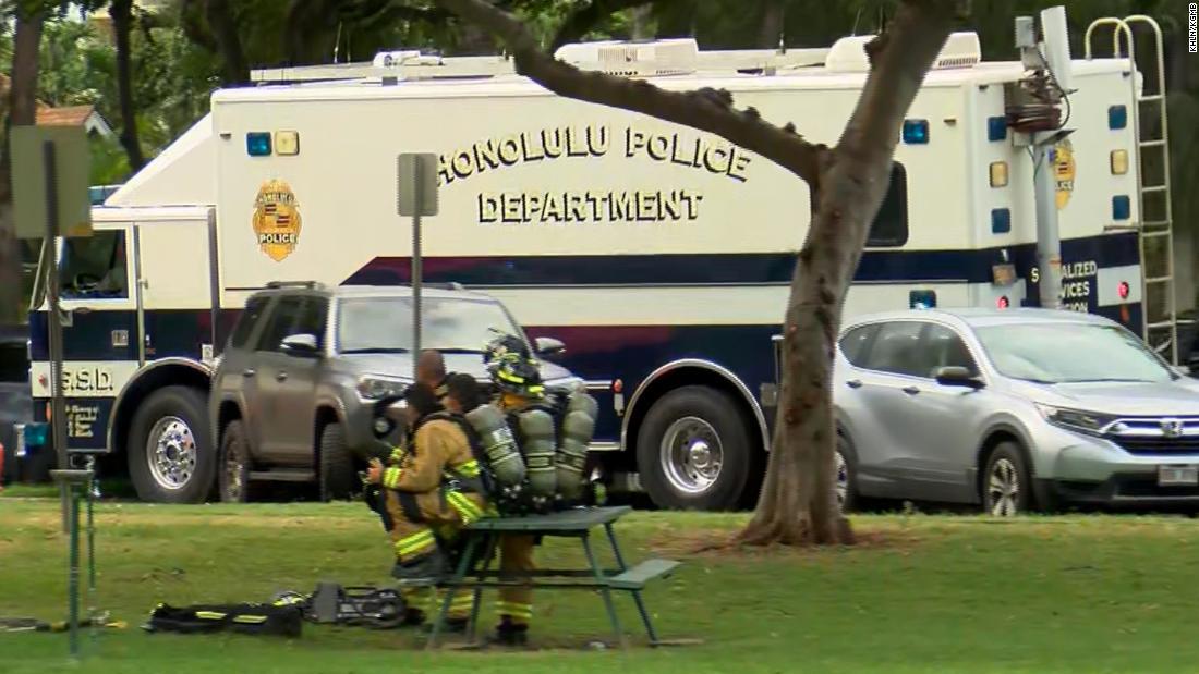 Mindestens zwei Honolulu Polizisten getötet, Schießen, Bericht sagt