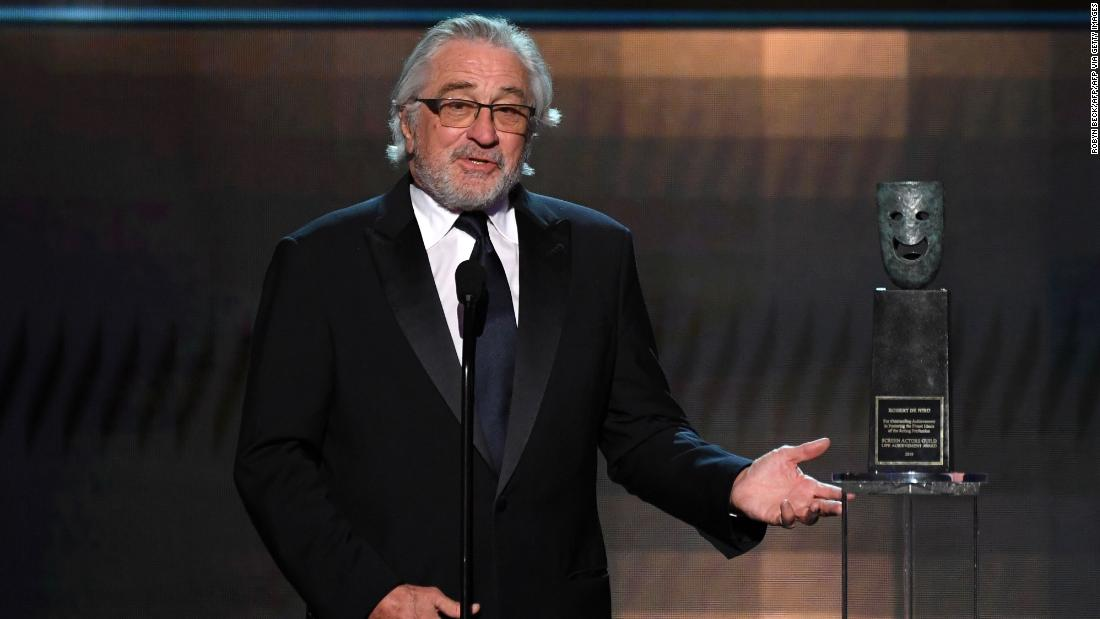 Robert De Niro asserts his right to say whatever the heck he wants