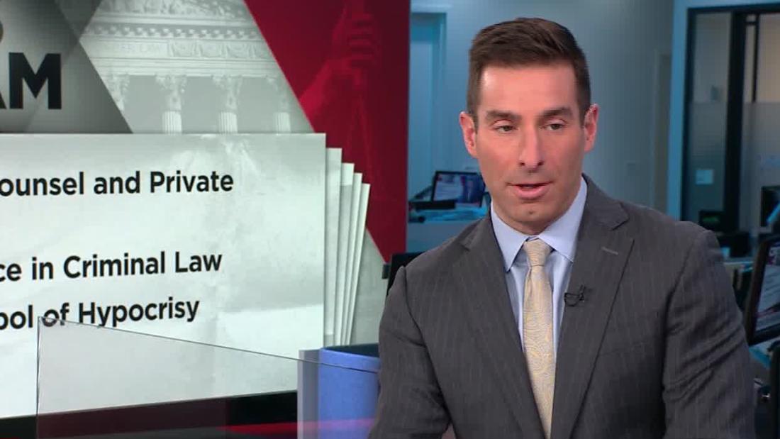 アナリストお一人様にトランプの法的防御チームは、問題