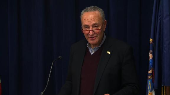 Image for Schumer on Senate impeachment trial: 'We will force votes' on witnesses and documents