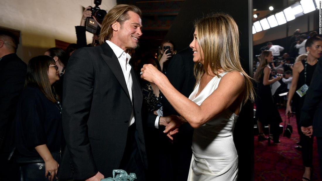 Η Jennifer Aniston και Brad Pitt ανθρώπους, τα συναισθήματά τους