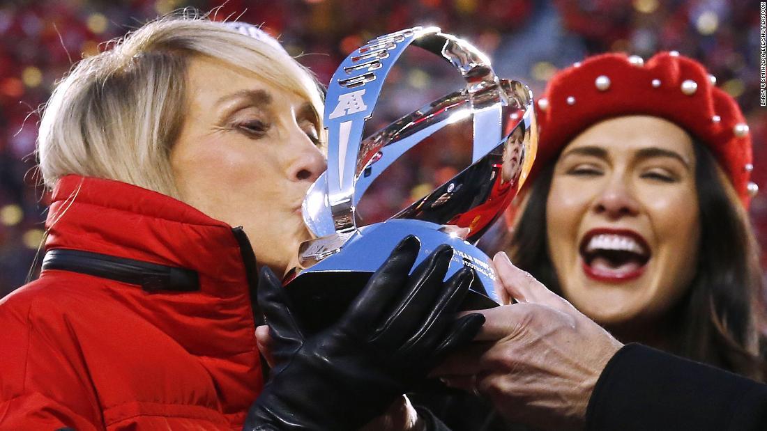Norma Jagd gehen, um Ihre 54th Super Bowl. Diese Zeit, Ihr team Ihr beitreten